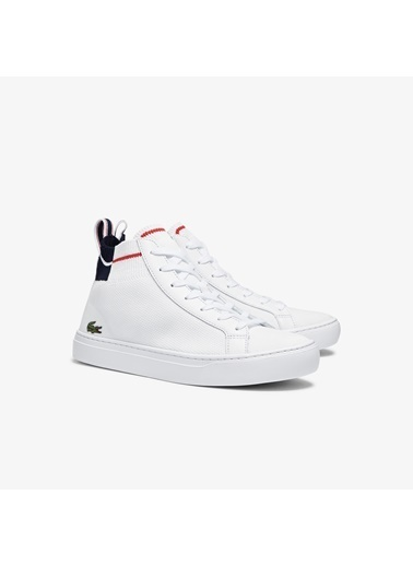 Lacoste Erkek La Piquéé Spor Ayakkabı 741CMA0034.407 Beyaz